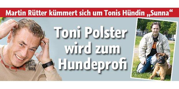 Toni Polster wird für VOX zum Hundeprofi