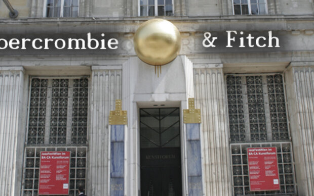 Bald in Wien: Abercrombie & Fitch