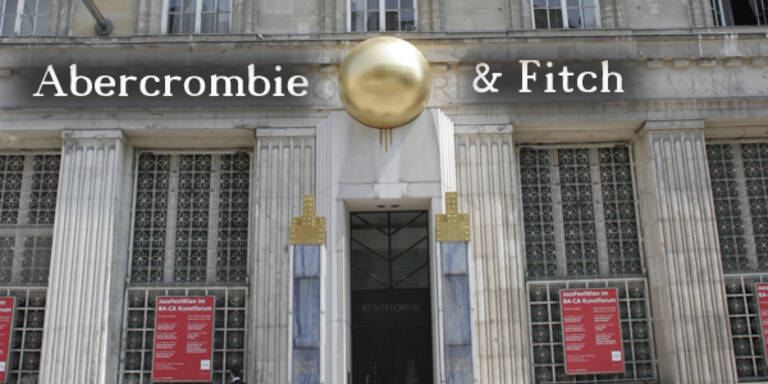 Abercrombie and Fitch Store in Wien
