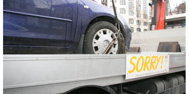 Autofahrer flüchtete von Abschlepp-Platz