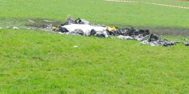 Kleinflugzeug abgestürzt - Ehepaar tot