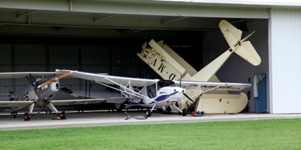 Piloten unter Schock