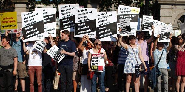 Europaweite Demos für das Recht auf Abtreibung