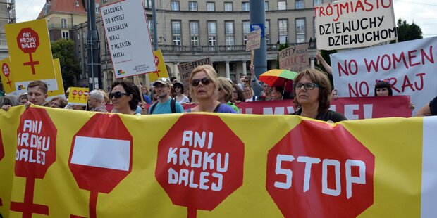 Polen wollen verschärftes Abtreibungsgesetz