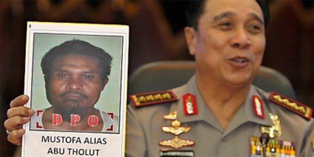Top-Terrorist in Indonesien verhaftet
