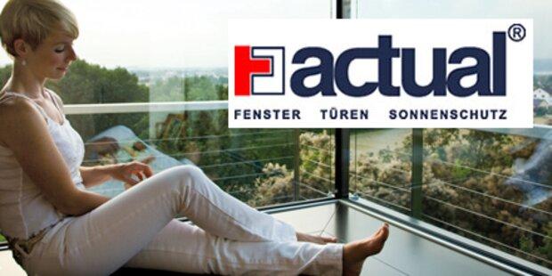 ACTUAL Neuheiten und Fensterförderung