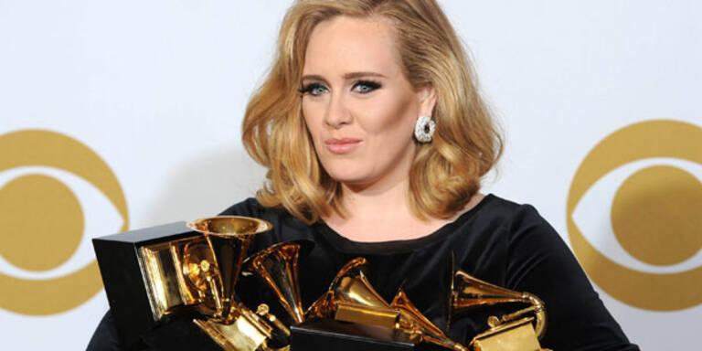 Adele hängt Michael Jackson ab