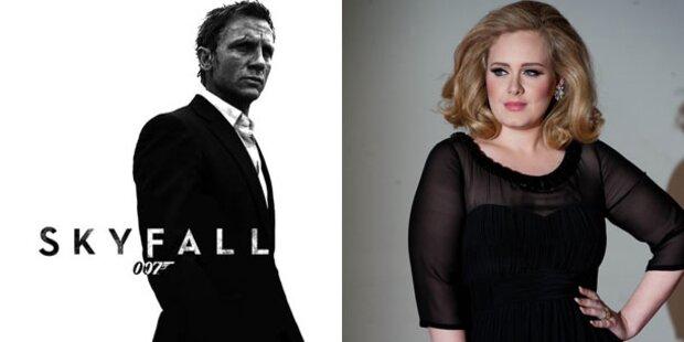 Adele singt Bond-Song