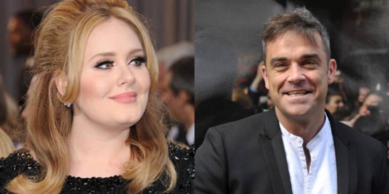 "Adele & Robbie sind bald ""Swinger""-Paar"