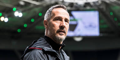 Frankfurt-Trainer Adi Hütter