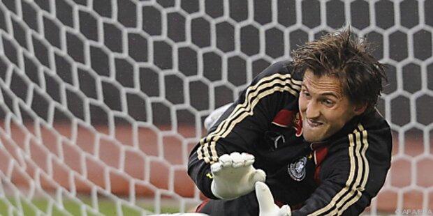 Deutschland bei WM ohne Einser-Goalie Rene Adler