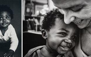 Fotoserie über Adoption: Sams erstes Jahr mit neuer Familie