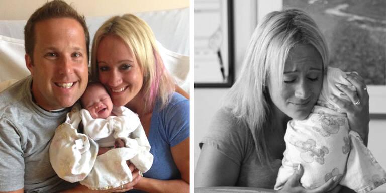 Diese emotionalen Bilder zeigt die Olson Familie, als sie ihre Adoptiv-Tochter Tilly zum ersten Mal begrüßen dürfen.
