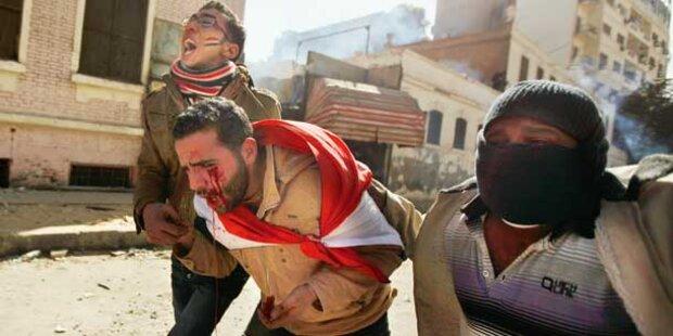 Agypten: Militär schießt in Menge