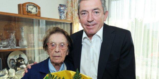 Cäcilia Buchinger feierte 109. Geburtstag