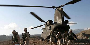 Afghanistan Hubschrauber USA