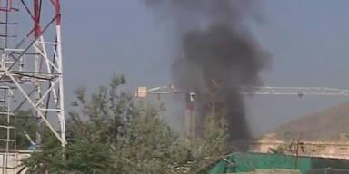 Kabul: Taliban greifen Präsidentenpalast an