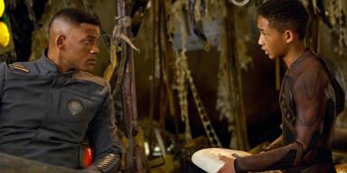 Will Smith und Sohn retten die Welt
