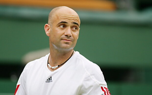 Andre Agassi Toupet