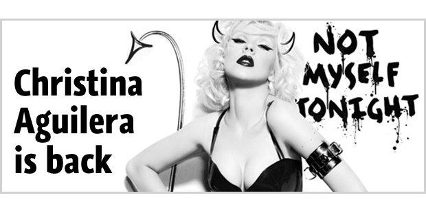 Christina Aguilera nach Babypause zurück