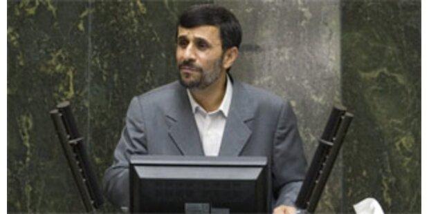 Ahmadinejad sieht Iran und USA nicht auf Kriegskurs