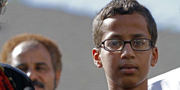 Obama lädt vermeintlichen Bomben-Bastler ein