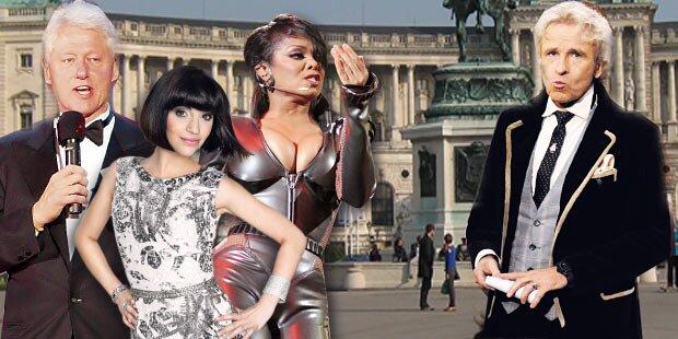 Exklusive Star-Gala in der Hofburg