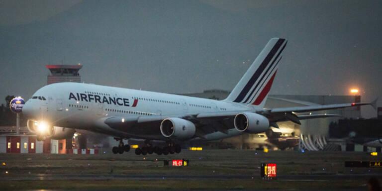 Mann wollte Air-France-Flugzeug anzünden