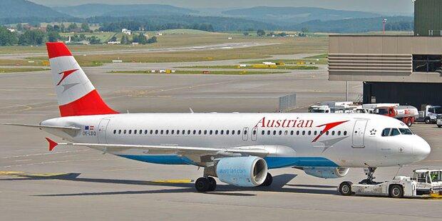 AUA-Flieger gerammt: Airbus flugunfähig