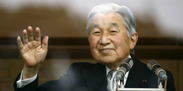 Angst um Japans Kaiser Akihito