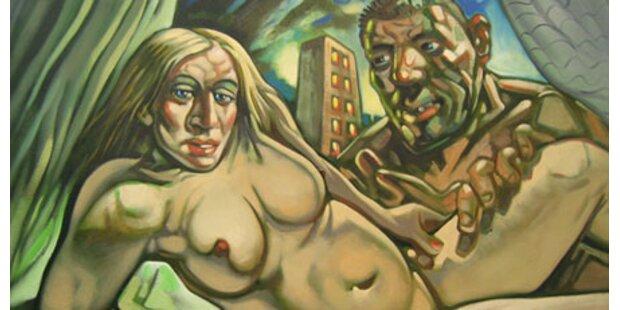 Aktbild von Madonna & Guy unterm Hammer