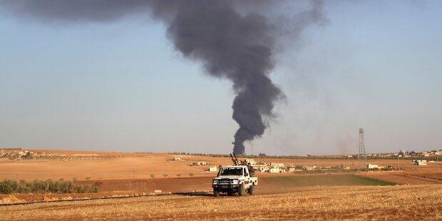 Kämpfe um Al-Bab halten an