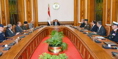 Ägyptens Parlament billigt Ausnahmezustand