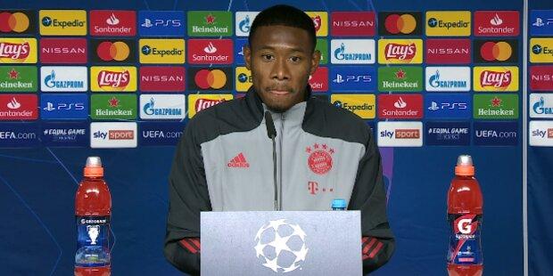 Bayern-Aus? Jetzt redet David Alaba
