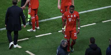 Letzter Bayern-Auftritt: Alaba enttäuscht