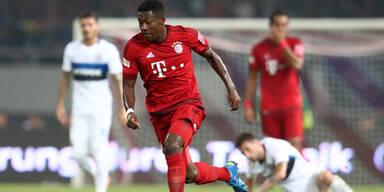 Bayern-Pleite gegen China-Meister