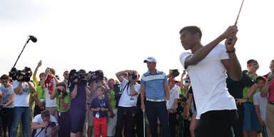 Alaba auf Tiger Woods' Spuren