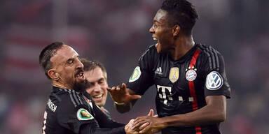 Alaba trifft bei Bayern-Sieg
