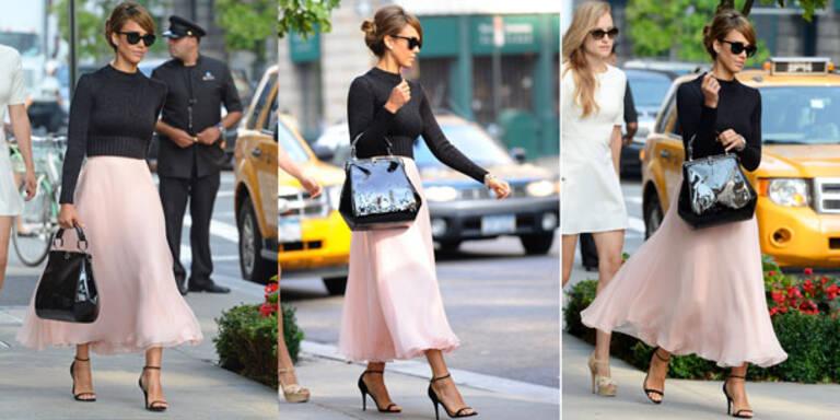 Jessica Alba im New York-Fashion-Week-Look