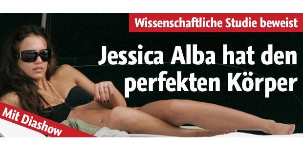 Jessica Alba hat den perfekten Körper