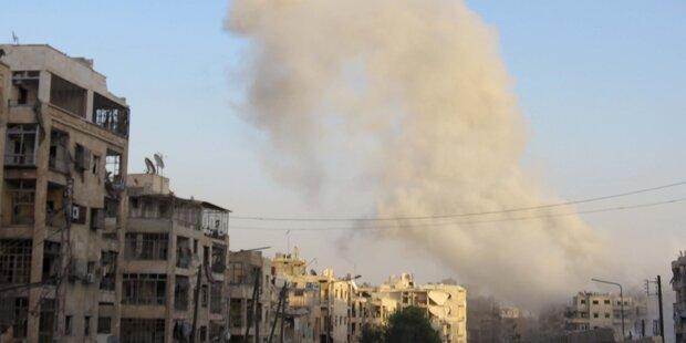 Aleppo: Bombardements gehen nach kurzer Pause weiter