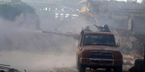 Alarm wegen heftiger Kämpfe in Aleppo