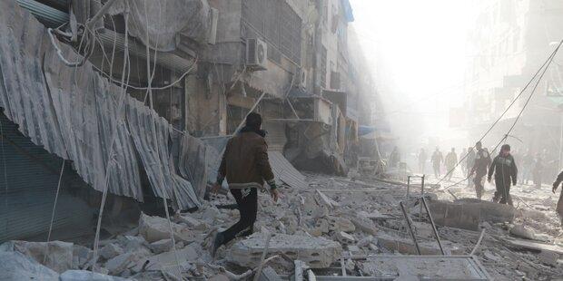 Anschlag in Aleppo: Mindestens zehn Tote