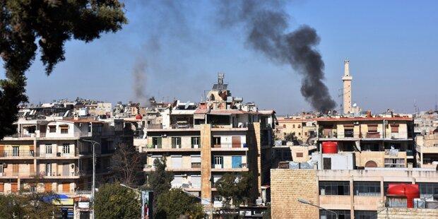 Keine Einigung über Rebellen-Abzug aus Aleppo