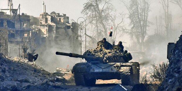 Plan: Freier Abzug von Rebellen aus Aleppo