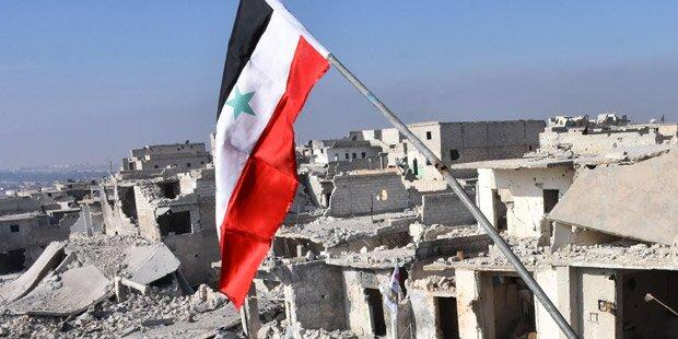 Schlacht um Aleppo ist am Ende angelangt
