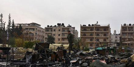 Syrische Armee nimmt gesamte Altstadt von Aleppo ein