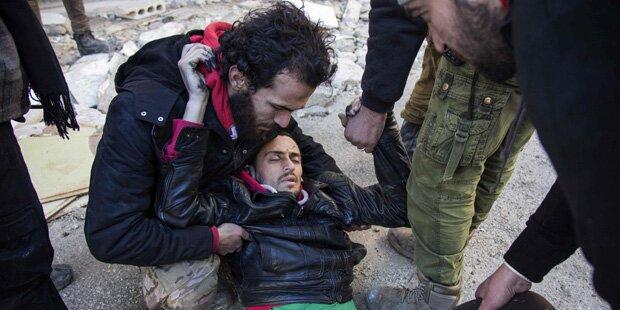 Aleppo stirbt und wir sehen zu
