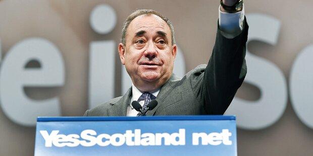 Schotten und Katalanen wollen weg