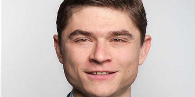 NEOS Wien: Alexander Huber wird neuer Klubdirektor